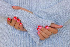 Metoda hybrydowa zdobienia paznokci